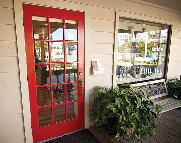 sassy door & Sassy Hair Salon Siesta Key