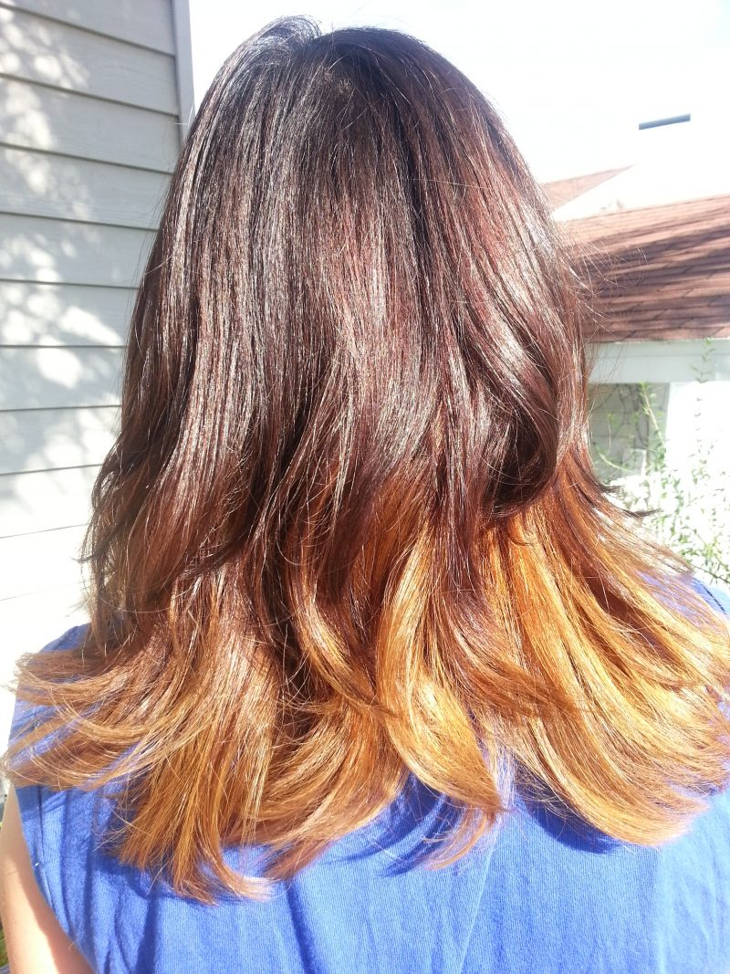 ombre back